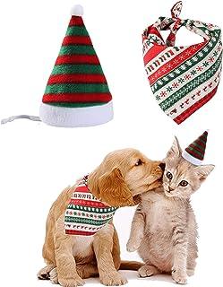 Christmas Santa Bandana Kitten Costume
