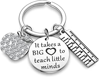 Teacher Appreciation Gifts Teacher Charms Teacher Keychains Thank You Gifts Jewelry Gift for Teachers