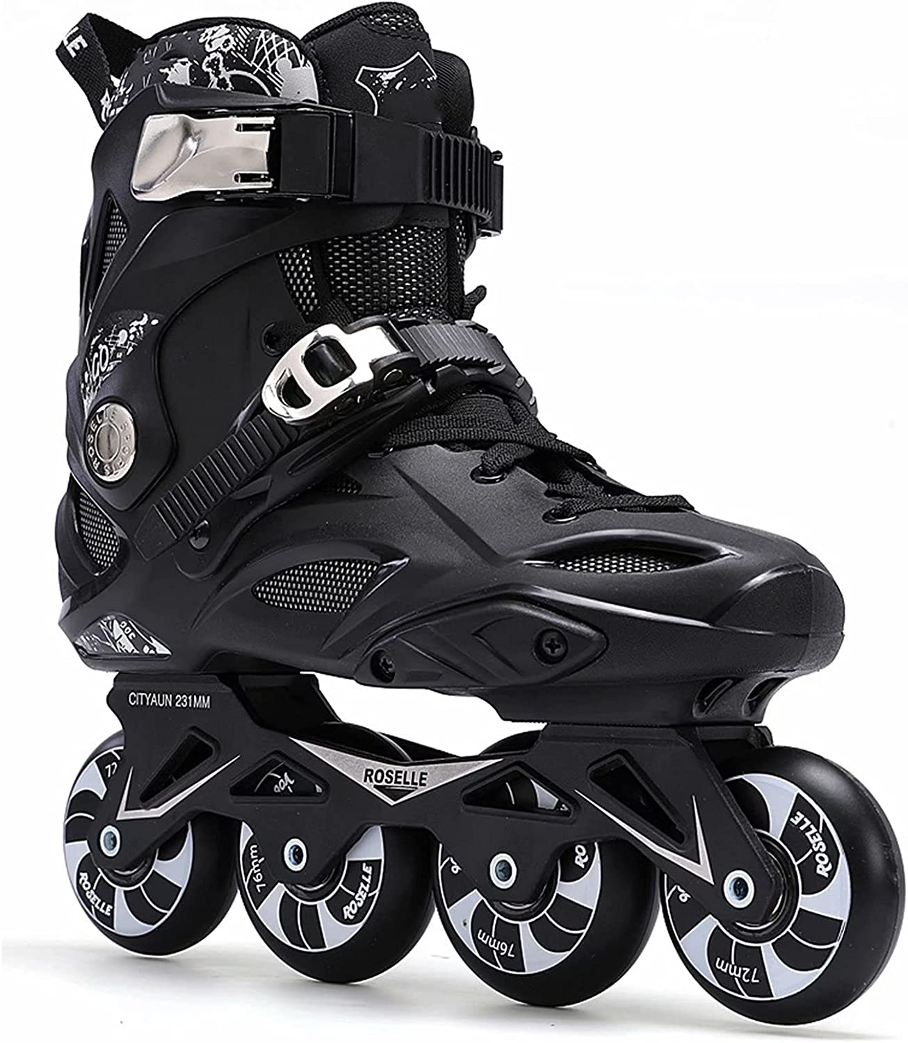 HSTFR Kansas City Mall Inline Skates for Men and Childr Max 57% OFF Women Shoes Speed Skating