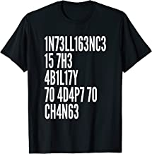 Intelligence Is The Ability To Adapt To Change Cool Quote