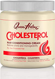 Queen Helene Hair Conditioning Cream, Cholesterol, 15 Ounce (Pack of 6) [Packaing May Vary]