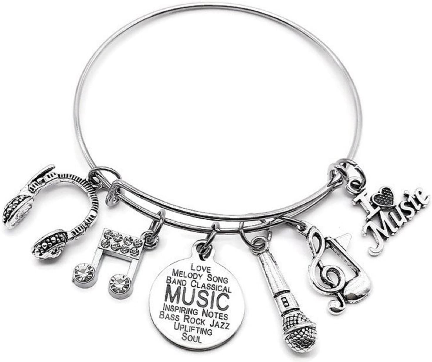 Music Fashionable Bracelet Musical Jewelry Note Headphone Max 40% OFF