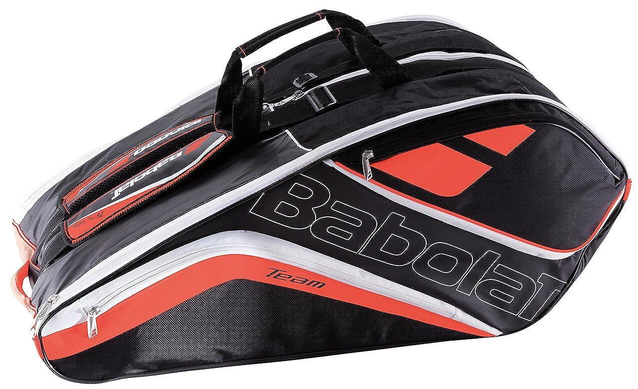 広がり馬鹿木曜日Babolat(バボラ) テニス バドミントン ラケットバッグ チームライン 12本収納可  BB751152 フルオレッド(568)