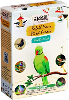 JiMMy Pet Products Refill for Bird Feeder Tempt Parrot Food 9.6 Kg