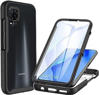 CENHUFO för Huawei P40 Lite fodral, med inbyggt skärmskydd militärklassskydd stötsäkert klart skydd 360° helkroppsskyddand...