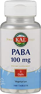 Kal 100 Mg Paba Tablets, 100 Count
