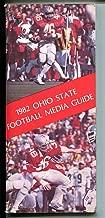 Ohio State Buckeyes NCAA Football Media Guide-1982-Earl Bruce-stats-FN/VF
