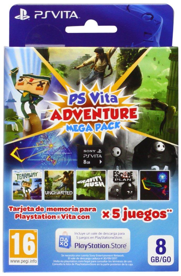 Sony - Tarjeta De Memoria 8 GB + Adventure Mega Pack (PS Vita ...