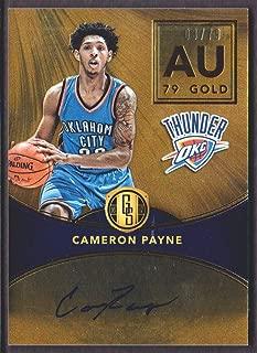 2016-17 Panini Gold Standard Basketball AU Autograph #CAP Cameron Payne Auto 03/79 Oklahoma City Thunder