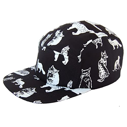GP Accessories Kitten Kitty Cat 5 Panel Hat