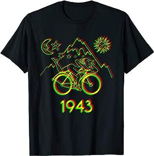 Bicycle Day 1943 LSD Acid Hofmann Trip t-shirt