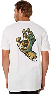 Santa Cruz Men's Camo Hope Hand Mens Tee Short Sleeve Cotton White