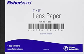 Fisher Scientific 11-996 Lens Paper, 4