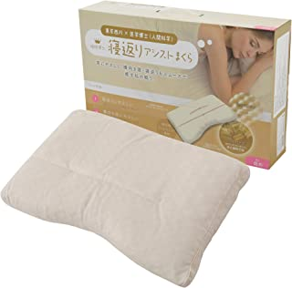 東京西川 枕 洗える 睡眠博士 寝返りアシスト 寝返りで目覚めてしまう方向け ソフトパイプ 高さ調節可能 アーチ型形状 やわらかタッチ 高さ(低め) EKA0501203L