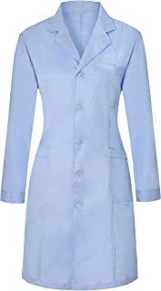 Medical Science Lab Coats for Women and Men Physician Chemistry Jackets Long Sleeve