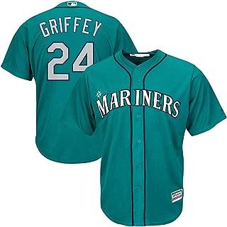 Outerstuff Ken Griffey Jr Seattle Mariners Toddler Teal Alternate Cool Base Replica Jersey
