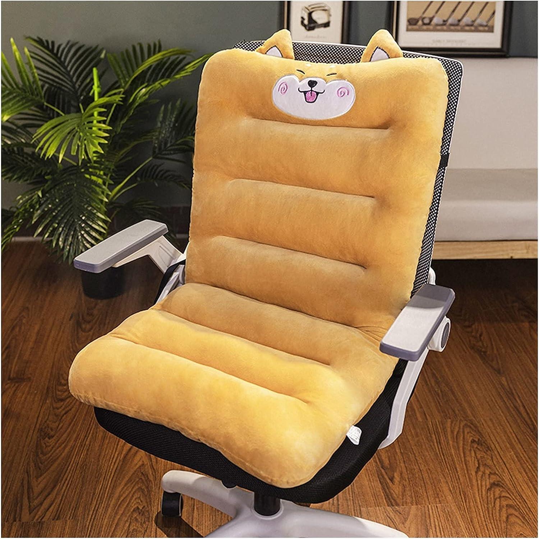 QIANGU 1 trust Pack Soft Short Plush San Diego Mall Fabric Chair Chais Lounge Cushion