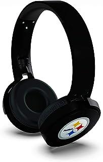 NFL Pittsburgh Steelers Wireless Bluetooth Headphones, Team Color