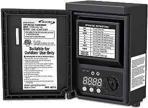 Malibu 120 watt Outdoor 12V Low Voltage Transformer for Landscape Light 8100-9120-01