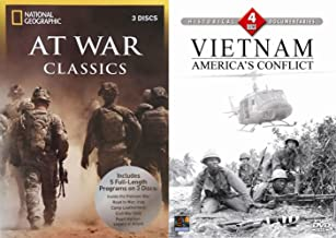 Vietnam Documentary Set Inside the Vietnam War Classics Collection 7-DVD Bundle Over 27 Hours Iraq Civil and WWII Features