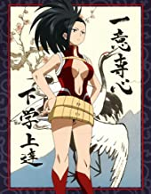 TianSW YAOYOROZU MOMO (14inch x 18inch/35cm x 45cm) My Hero Academia Season 3 Midoriya Izuku All Might Waterproof Poster No Fading