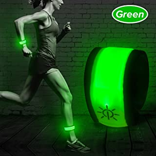 Higo LED Band,Glow Bracelet,Lighten UP Sport Armband for Running Walking Cycling Concert Camping Outdoor Sports