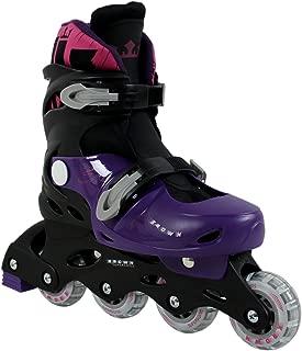 Krown Kids Adjustable Inline Skates Boys and Girls Fits Y13 – 9 Superspeed