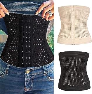 Sidiou Group Trainer mit hoher Taille Kolbenheber Bauchkontroll-Shapewear-H/öschen Body Shaper f/ür Frauen einstellbar und bequem