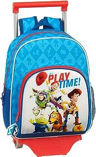 612031020 Mochila pequeña Ruedas, Carro, Trolley Toy Story, Multicolor