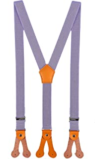 BODY STRENTH Kids Mens Suspenders and Bow Tie Adjustable