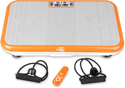 Power Fit Whole Body Vibration Exercise Platform - Home Workout Vibrating Step Equipment