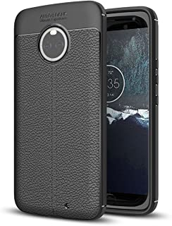 Moto X4 Case, Taorey Ultra Thin and Slim - Shockproof Drop Protection - Anti Slip and Scratch - TPU Leather TexturedScratch-Resistant for Motolola Moto X4 2017 (Black)…