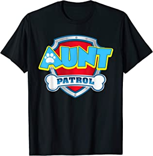 Funny Aunt Patrol T-Shirt - Dog Mom Gift T-Shirt
