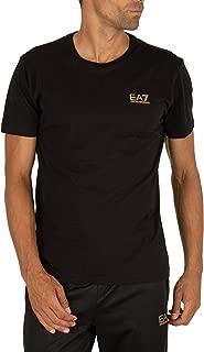 EA7 Men's Chest Logo T-Shirt, Black