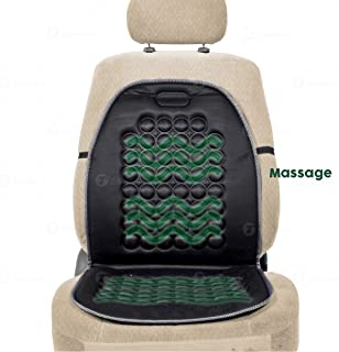 Zone Tech Magnetic Bubble Ultra Comfort Massaging Car Seat Cushion - Classic Black Premium Quality Massaging Padded Car Office Home Seat Cushion for Stress Free all Day!