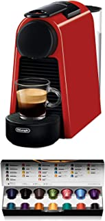 comprar comparacion Nespresso De'Longhi Essenza Mini EN85.R - Cafetera monodosis de cápsulas Nespresso, compacta, 19 bares, apagado automático...