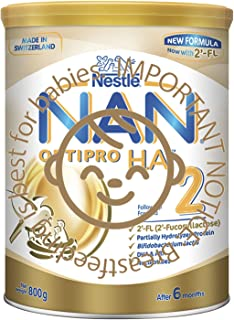 Nestlé NAN OPTIPRO Stage 2 H.A. Follow-on Milk Formula, 6 months onwards, 800g