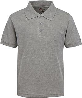 Premium Boys School Uniform Short Sleeve Stain Guard Polo Shirt