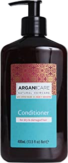 Arganicare Conditioner for Dry & Damaged Hair Enriched with Organic Argan Oil and Shea Butter (13.5 Fluid Ounce)