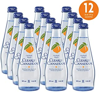 clear american golden peach sparkling water