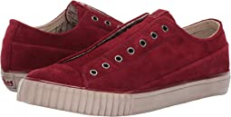 Washed Suede Low Top