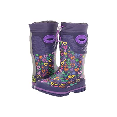 Western Chief Kids Winterprene Boots (Toddler/Little Kid/Big Kid) (Purple) Girls Shoes