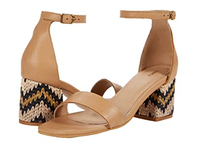 KAANAS Serrano City Slide with Chevron Heel (Sand) Women