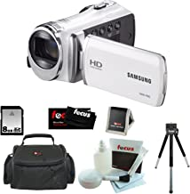 Samsung HMX-F90 5MP 1280x720 30p HD Camcorder in White with 8GB Deluxe Access...