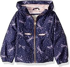 Jessica Simpson Girls' Lightweight Anorak Jacket with Jersey Lining
