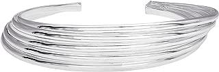 Sterling Silver Multi Row Cuff Bracelet