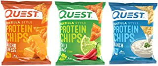 Quest Nutrition Protein Chips - Tortilla Style - 30 Count (Variety)