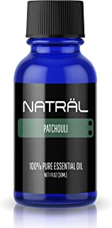 NATRÄL Patchouli, 100% Pure and Natural Essential Oil, Large 1 Ounce Bottle