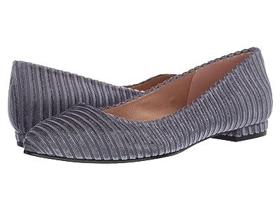 French Sole Elka (Grey Bremen Velvet) Women