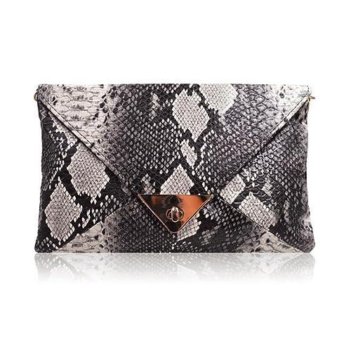 141c0f35092 Snake Skin Clutches: Amazon.com